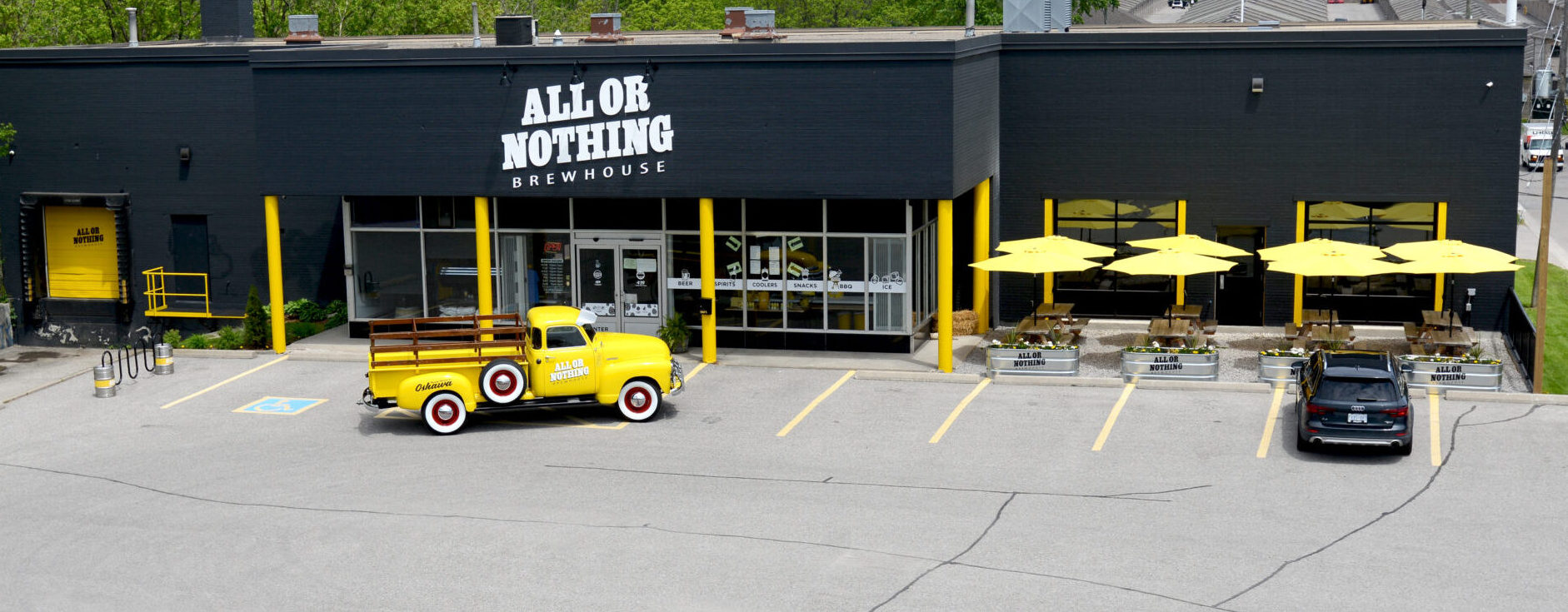 All or Nothing Brewhouse Front